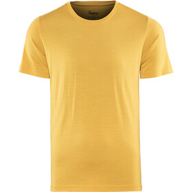 Bergans Oslo Wool Tee Men mustard yellow
